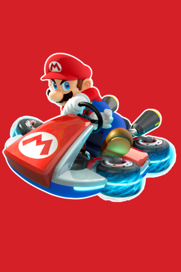 Mario kart sticker- Gummy